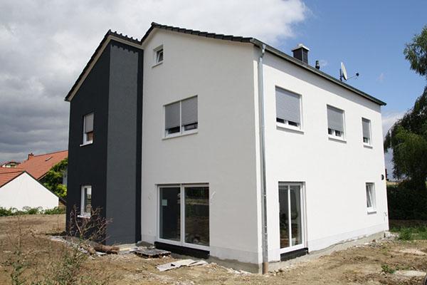 die Fassade ist der letzte Schliff beim Hausbau
