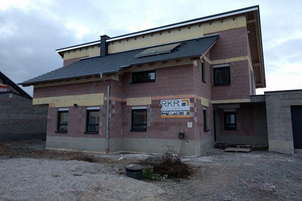 so sieht der Rohbau bei RKR Systembau GmbH aus