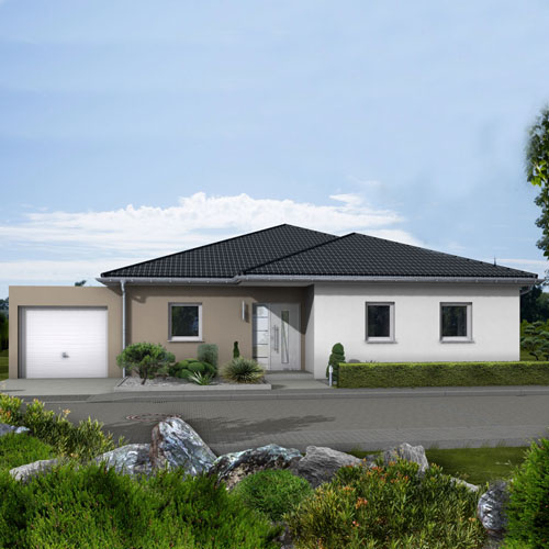 RKR Haustyp | Aktionshaus Bungalow 118 | Ansicht