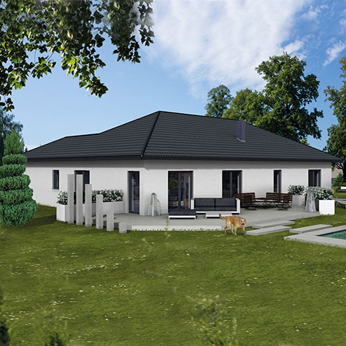RKR Haustyp | Bungalow Lemberg 149 | Ansicht