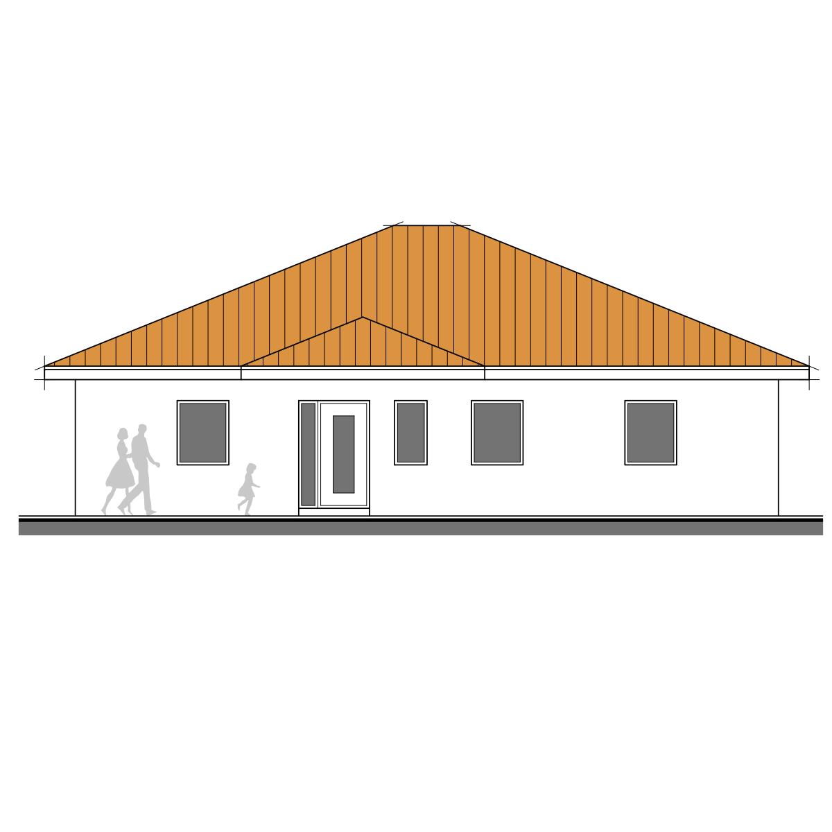 Begehbare Dusche Gr??e : Begehbare Dusche Bodenplatte : RKR Musterhaus BUNGALOW 137