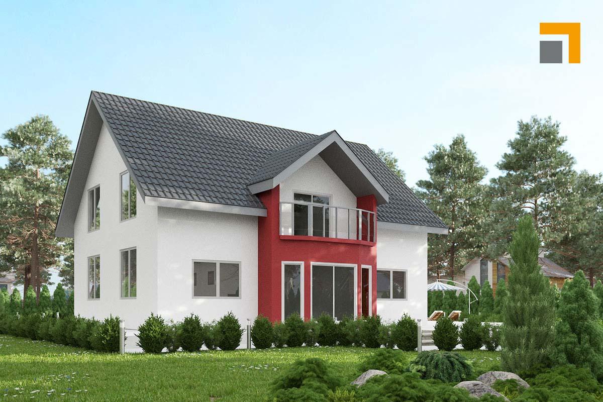 Astounding Einfamilienhaus Satteldach Referenz Von Muse 171 | Rkr Systembau Gmbh