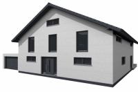 Front Ansicht Haus in Altdorf - RKR-Systembau GmbH